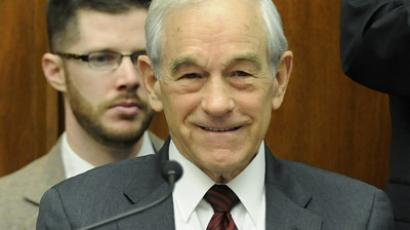 U.S. Representative Ron Paul (R-TX), Republican candidate for U.S. president. (Reuters / Jonathan Ernst)