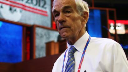 Ron Paul: 'The Fed is saying that we have lost control'