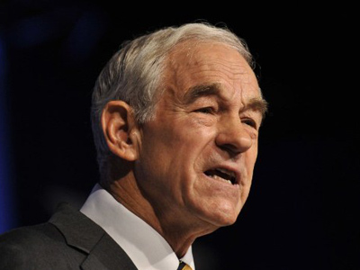 US Republican presidential hopeful Rep. Ron Paul of Texas addresses the Family Research Council's Values Voter Summit in Washington on October 8, 2011 (AFP Photo / Nicholas Kamm)
