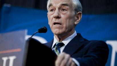 Republican Presidential hopeful U.S. Rep. Ron Paul  (T.J. Kirkpatrick/Getty Images/AFP)