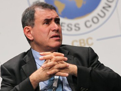 Roubini predicts eurozone collapse; world markets will follow