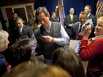 Online buzz: Did Santorum just drop N-bomb on Obama? (VIDEO)