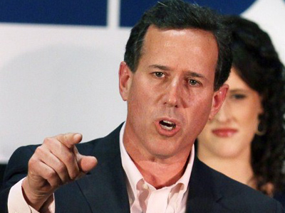 Shocker: Santorum says Obama is better than Romney