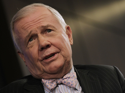 Jim Rogers is scared of a second term for Obama