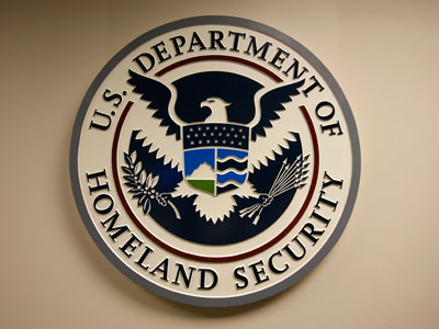 U.S. Department of Homeland Security emblem.(REUTERS / Hyungwon Kang)