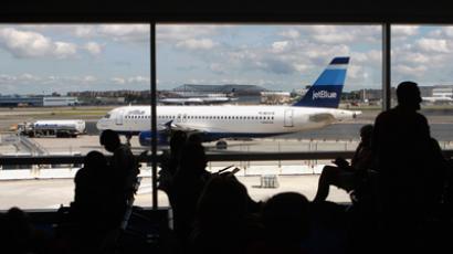 Man dies of heart attack in JFK airport after security doors delay responders