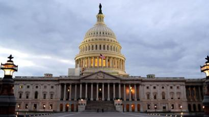 The US Capitol is seen in this December 18, 2011 file photo in Washington, DC.(AFP Photo / Karen Bleier)