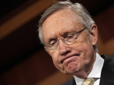 U.S. Senate Majority Leader Harry Reid. (REUTERS / Yuri Gripas)