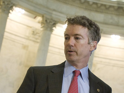 Senator Rand Paul asks supporters to help abolish the TSA