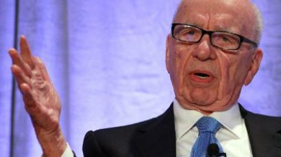 San Francisco: News Corp. CEO Rupert Murdoch delivers a keynote address at the National Summit on Education Reform. (Justin Sullivan/Getty Images/AFP)
