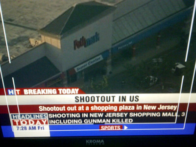 New Jersey supermarket shoot-out: 3 dead