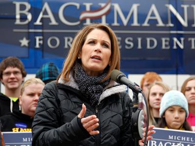 Michele Bachmann (Reuters / Jeff Haynes)