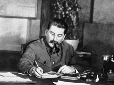 Stalin's signature sold for $12,500
