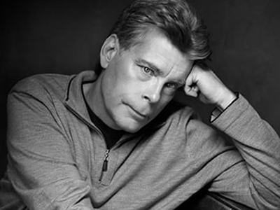 Stephen King (Photo from http://www.stephenking.com/)