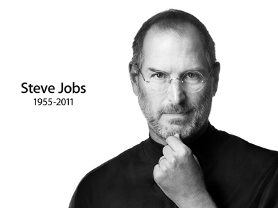 Steve Jobs (Photo from apple.com)