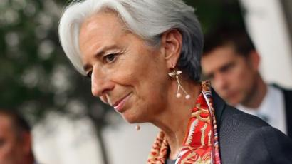 Christine Lagarde (Win McNamee / Getty Images / AFP)