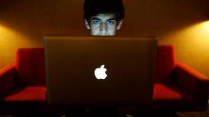 Aaron Swartz.(Photo from facebook.com/AaronSwartzMemorial)