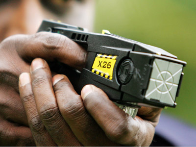 Taser International sued by man left with brain damage after being electrocuted