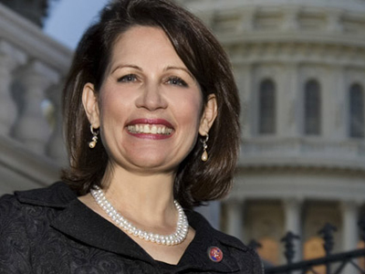 US Congresswoman Michele Bachmann (Image from blogs.citypages.com)