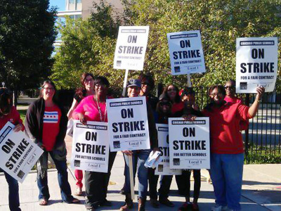 Unwelcome recess: Thousands strong teachers strike engulfs Chicago