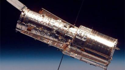 The Hubble Space Telescope. (Image from NASA)