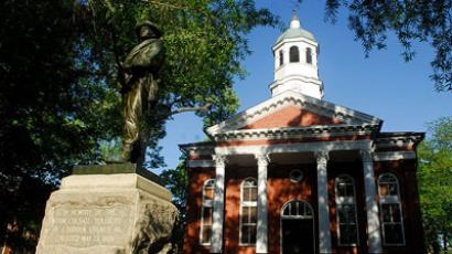 Loudoun County Courthouse in historic downtown Leesburg.(Photo from wikipedia.org / Karen Nutini)