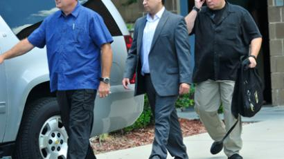 George Zimmerman (C), (Roberto Gonzalez / Getty Images / AFP)