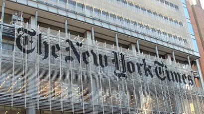 The New York Times, main office