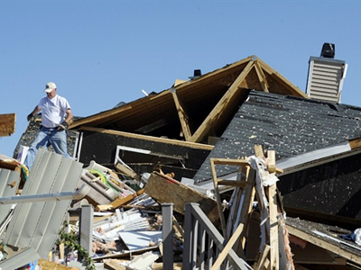 Tornadoes devastate America's south