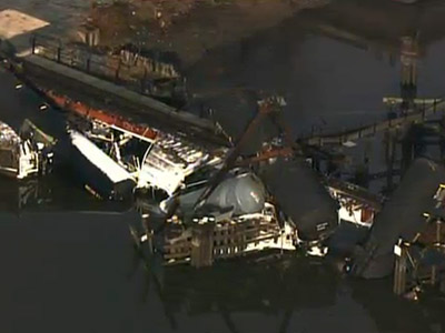 Hazmat: New Jersey train derails, toxic spill reported in creek (PHOTOS)