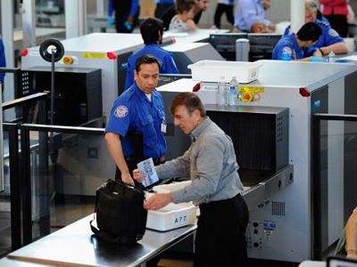 Transportation Security Administration (TSA) (AFP Photo / Getty Images)