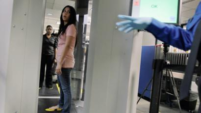 A TSA employee (AFP Photo / Joe Raedle)