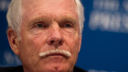 Ted Turner ( AFP Photo / Nicholas Kamm )