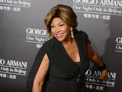 U.S. singer Tina Turner.(AFP Photo/ Mark Ralston)