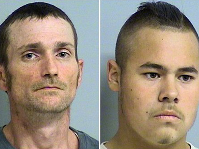 Two whites who terrorized a black neighborhood arrested