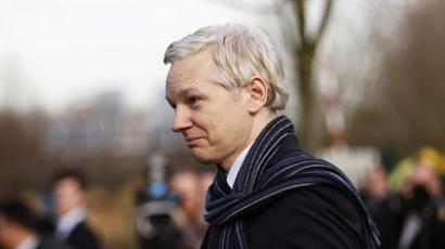 WikiLeaks founder Julian Assange leaves after appearing at Belmarsh Magistrates' Court in London February 24, 2011