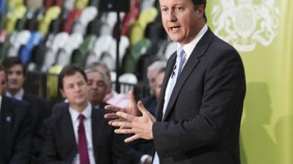 British Prime Minister David Cameron (AFP Photo / Getty Images)