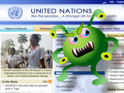 UN.org has malicious content – Russian search engine