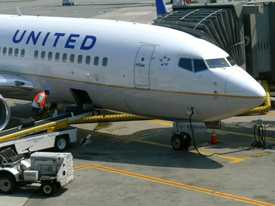 United Airlines flight delay provokes airport revolt