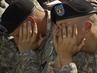US Army grants $3 million for anti-suicide nasal spray research