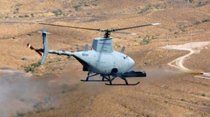 MQ-8B Fire Scout drone helicopter (AFP Photo / US Navy)