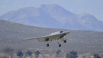 The unmanned X-47B jet (AFP Photo / Northrop Grumman)