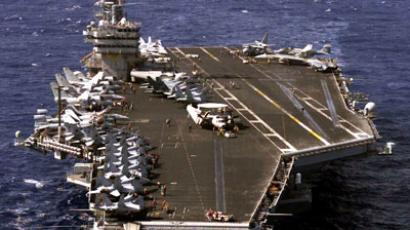 US Navy pulls two aircraft carriers from Syria shores