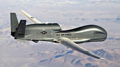 An undated U.S. Air Force handout photo of a RQ-4 Global Hawk unmanned aircraft. (Reuters / U.S. Air Force / Bobbi Zapka)