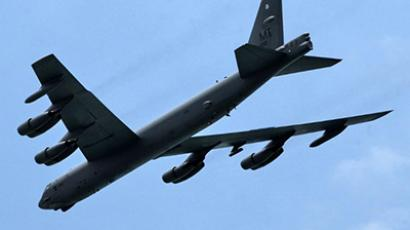 A US Air Force B-52 bomber. (AFP Photo / Roslan Rahman)
