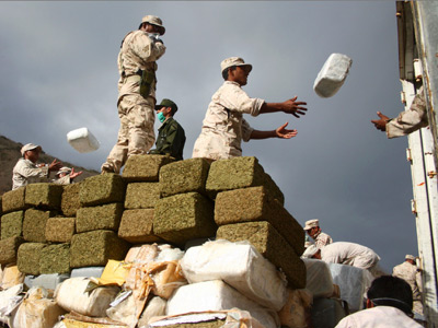 US Navy returns with 10-ton catch of illegal marijuana