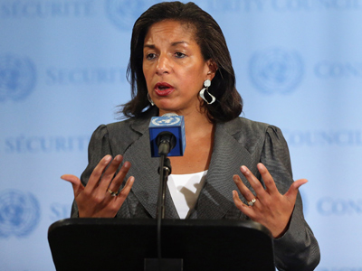 US envoy to UN skips Netanyahu speech to have lunch