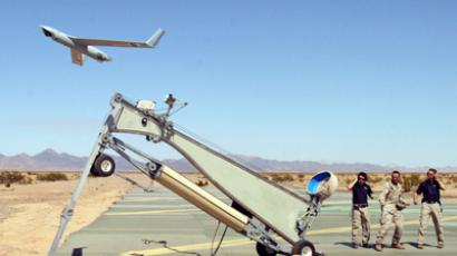 Boeing Scan Eagle Unmanned Aerial Vehicle (UAV) (AFP Photo / Sgt Guadalupe M. Deanda III)
