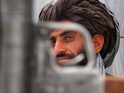A Taliban militant fighter (AFP Photo / Arif Karimi)