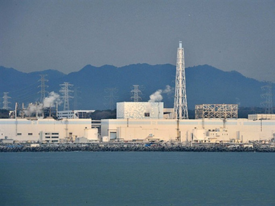 This handout picture taken by Japan's Maritime Self Defense Force on March 31, 2011 and distributed by Jiji Press shows the badly damaged Tokyo Electric Power Co (TEPCO) number 1 daiichi nuclear power plant at Okuma town in Fukushima prefecture (AFP Photo / HO / Maritime Self Defense Force via Jiji)